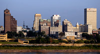Memphis Skyline and City