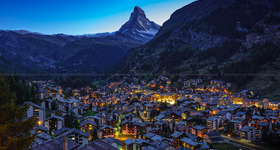 Zermatt, Switzerland and the Matterhorn