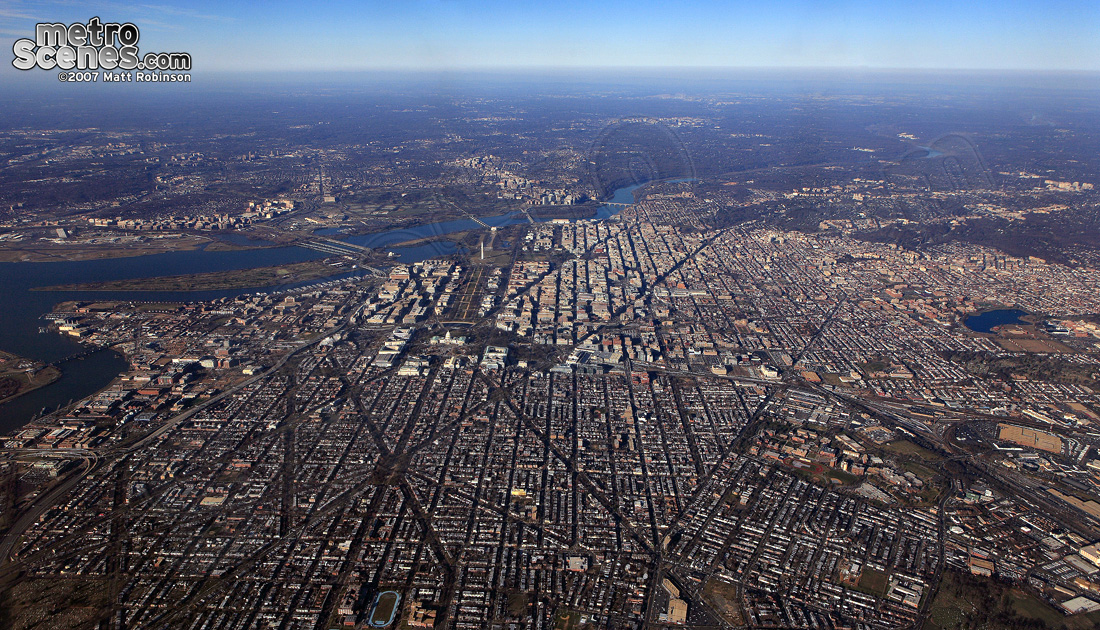 Aerial Views Of US Cities