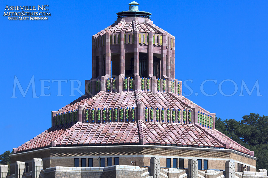 Asheville City Hall rooftop