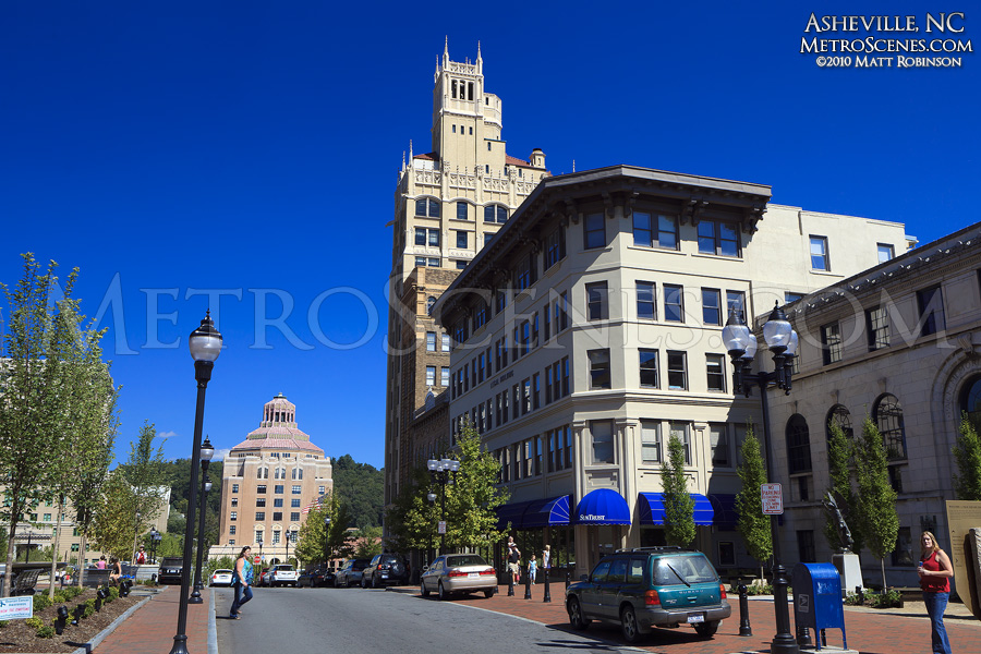 Blue Ridge Savings Bank building in Downtown Asheville