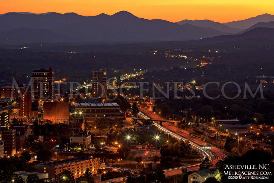 Mountain Skyline Asheville