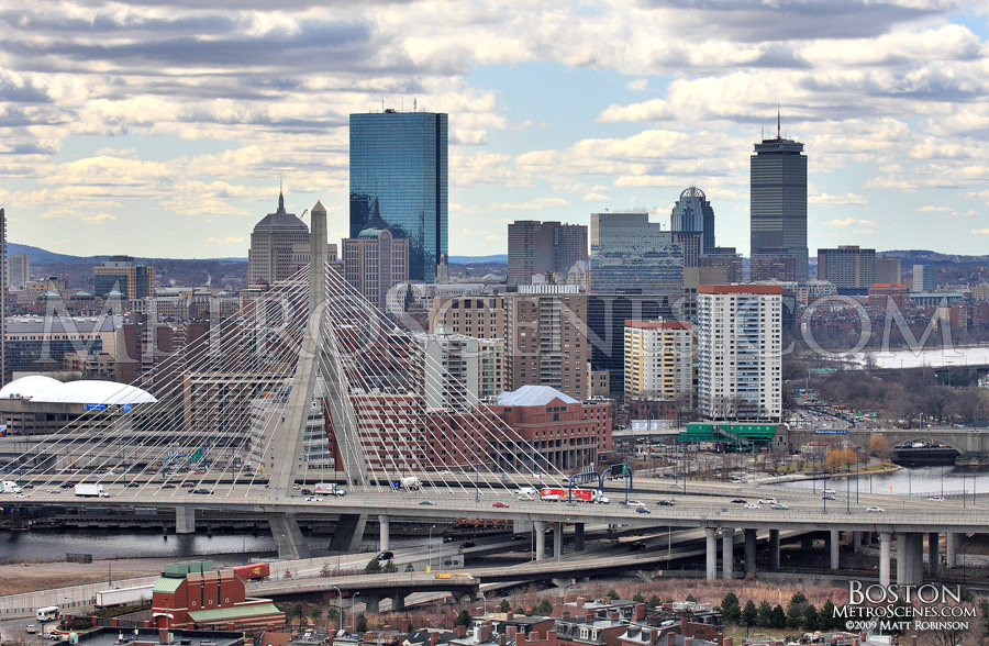 John Hancock, Prudential and the Zakim Bridge