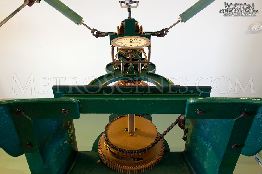 Mechanism for the clock tower