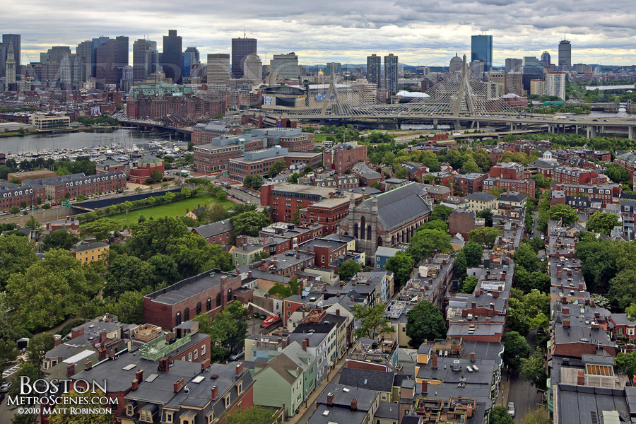 Charlestown view of Boston