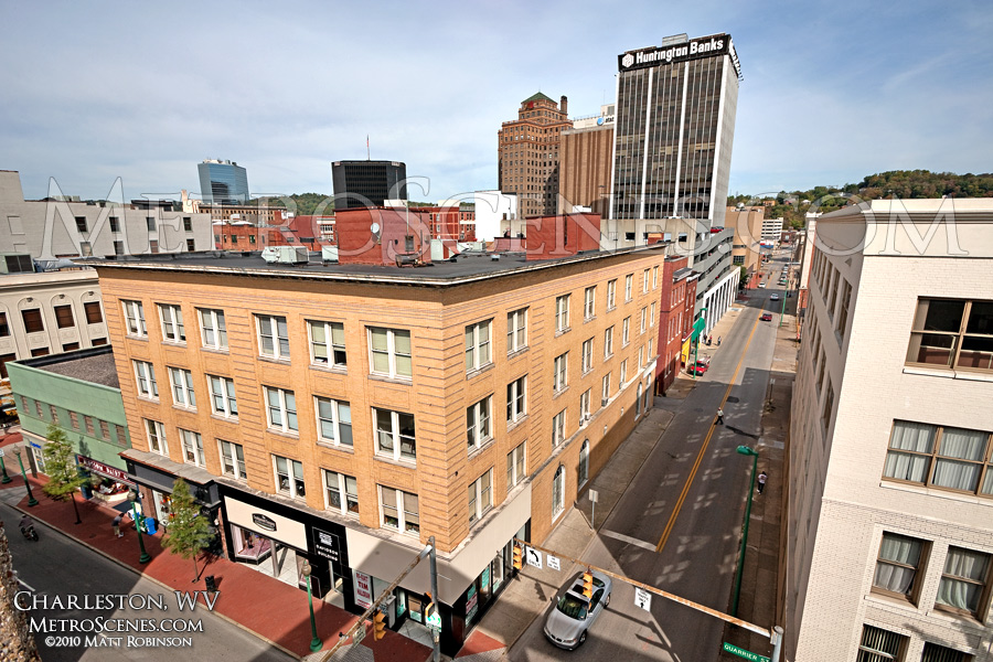 Above Quarrier Street