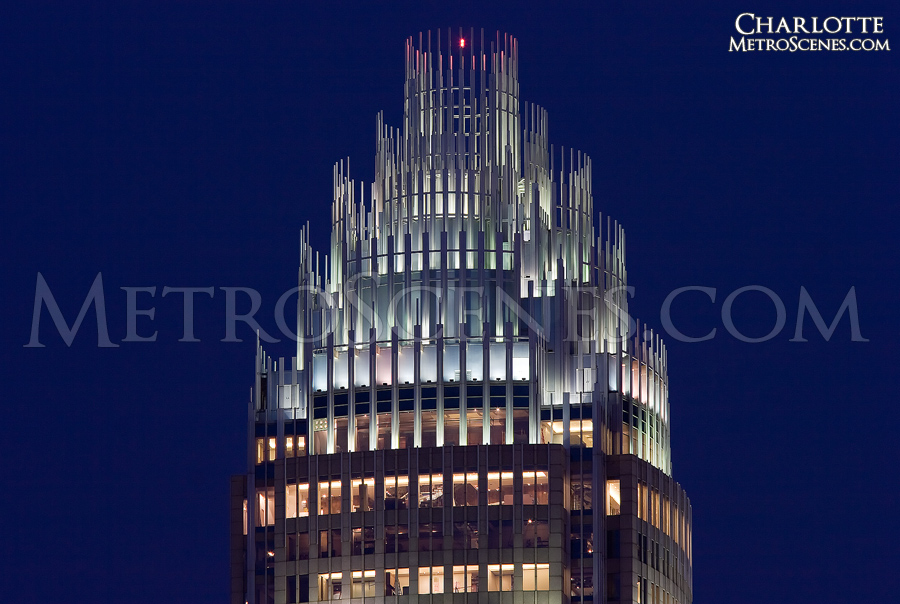 Bank of America crown, Charlotte