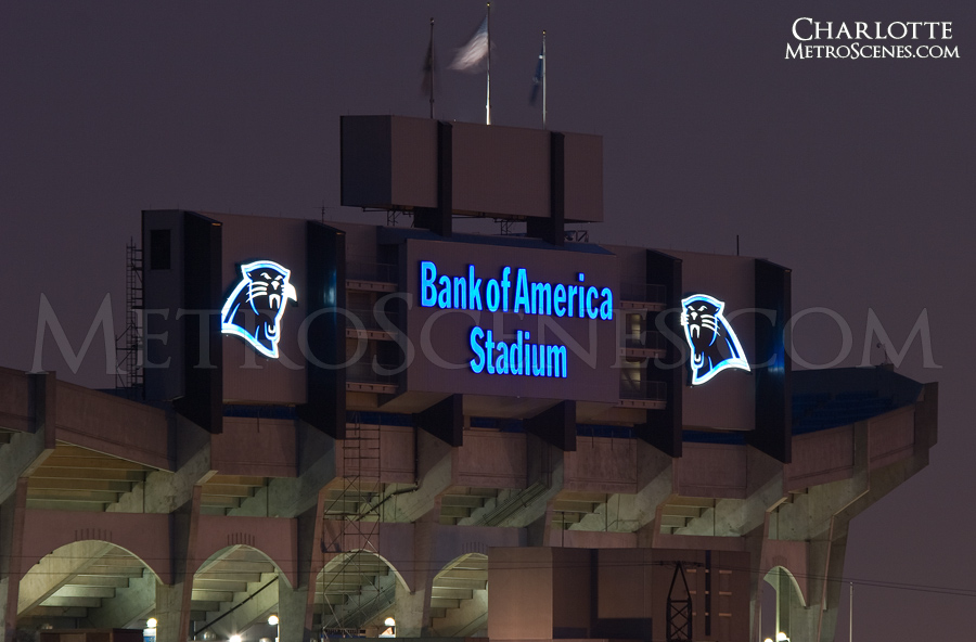 Carolina Panthers Bank of America Stadium Charlotte, North Carolina