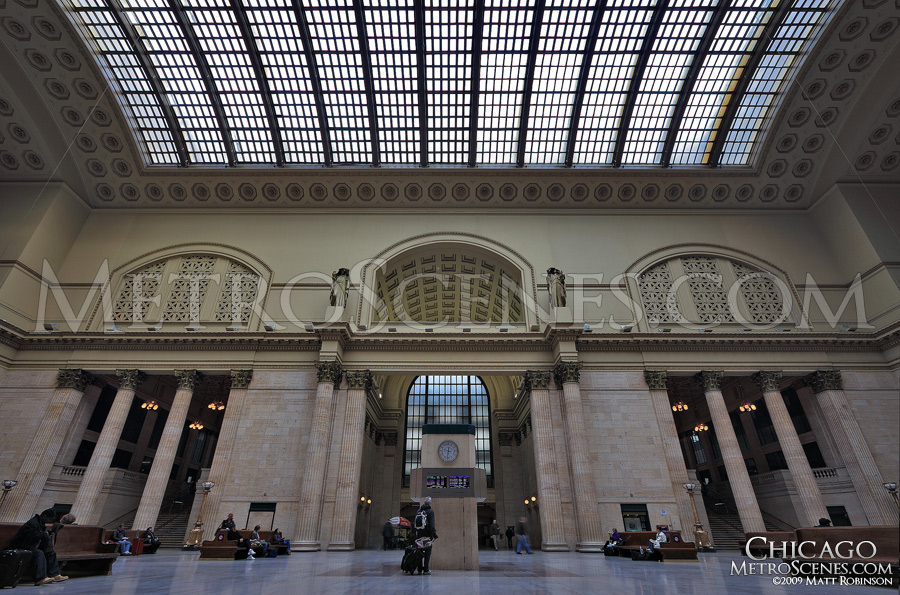 Interior of Chicago's Union Station
