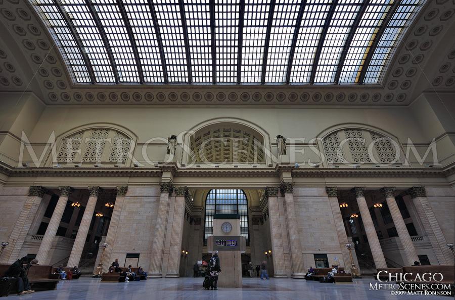 Interior of Chicago's Union Station
