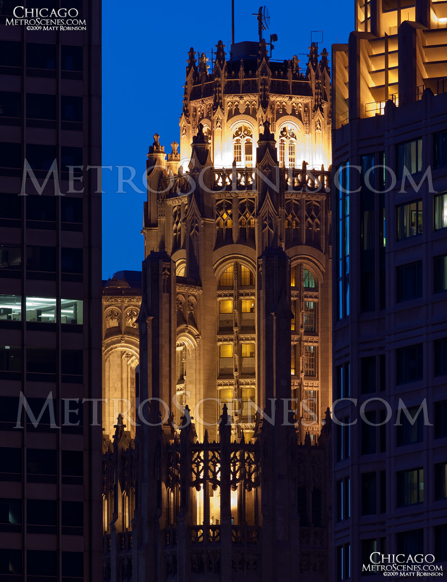 Crown of the Tribune Tower