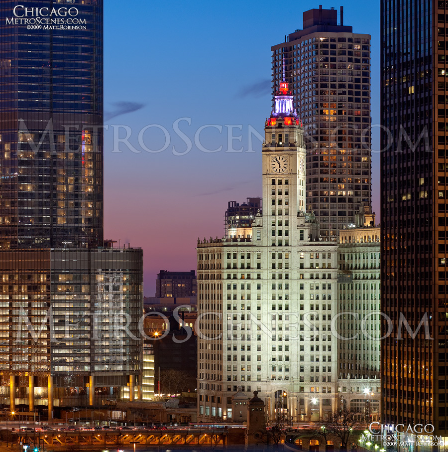 Wrigley Building, Trump Tower
