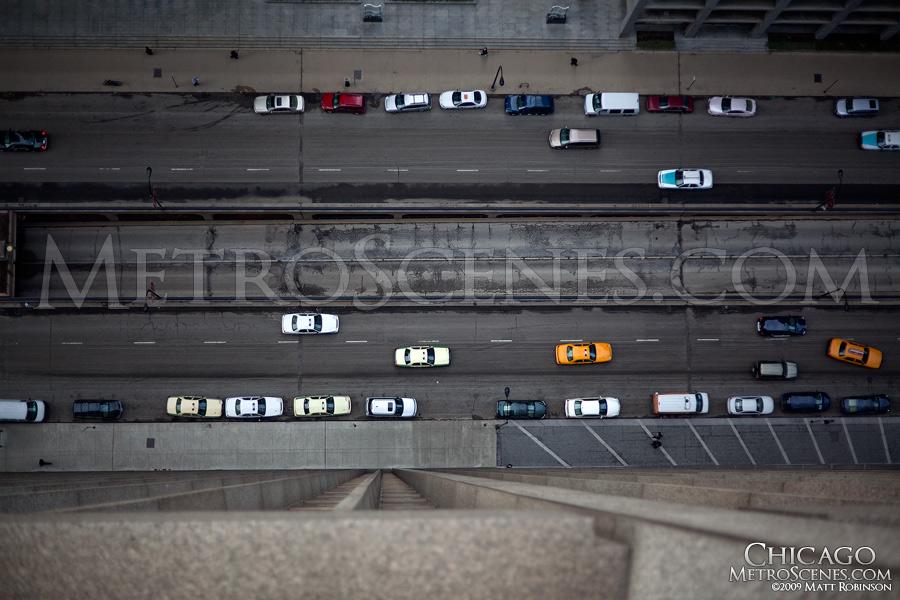415 feet above South Wacker Drive