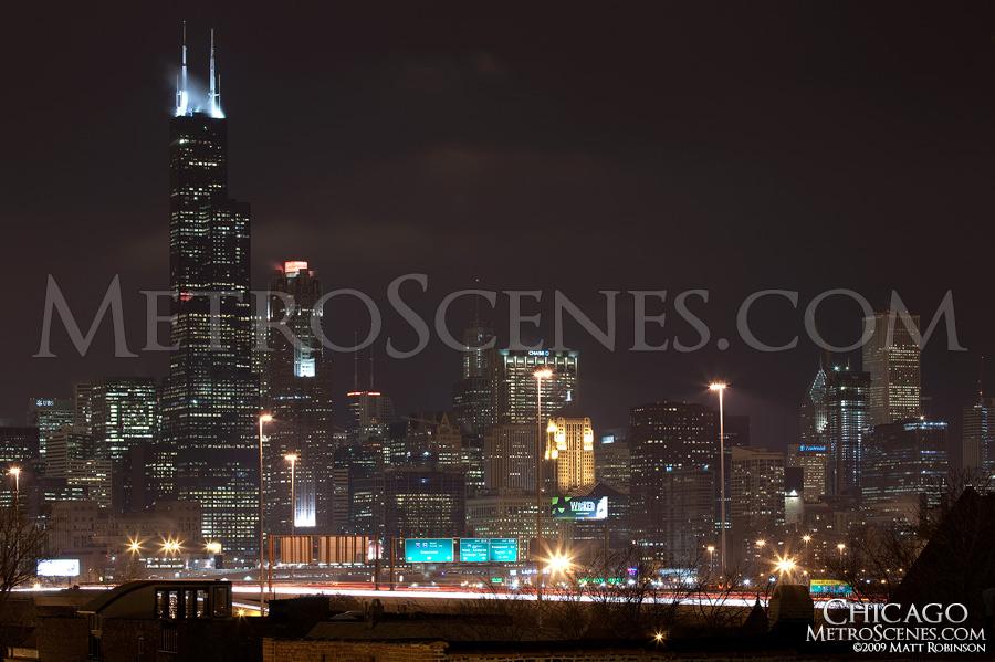 Chicago skyline from Pilsen