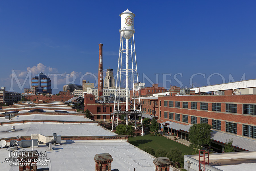 Overview of American Tobacco Campus