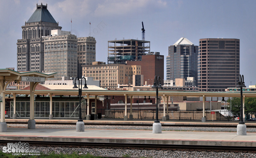 Greensboro, NC Skyline
