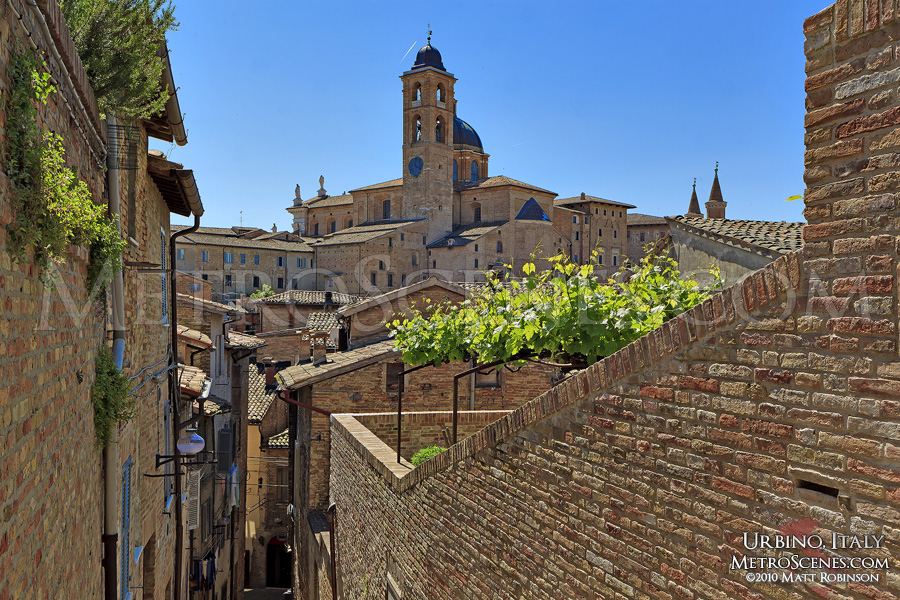 Medieval views in Urbino