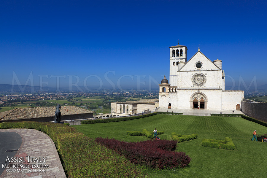 Basilica of St. Francis of Assissi, Italy