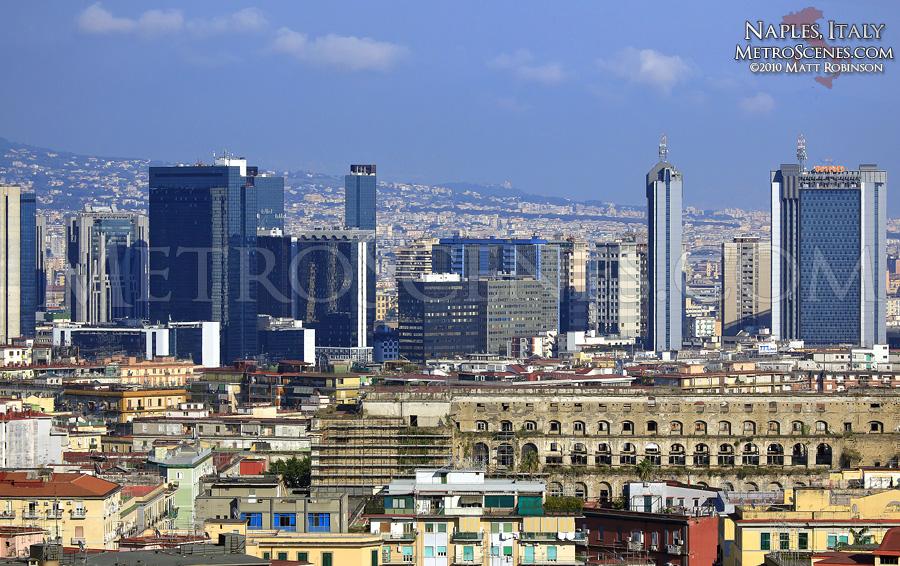 Naples, Italy Skyline