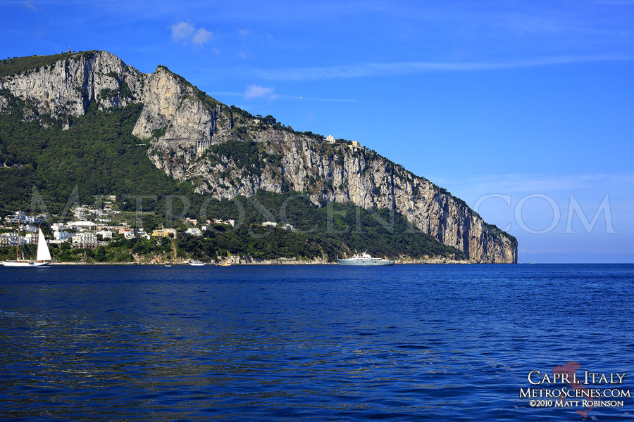 Approaching the Isle of Capri