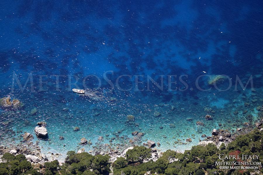 Coastline of Capri