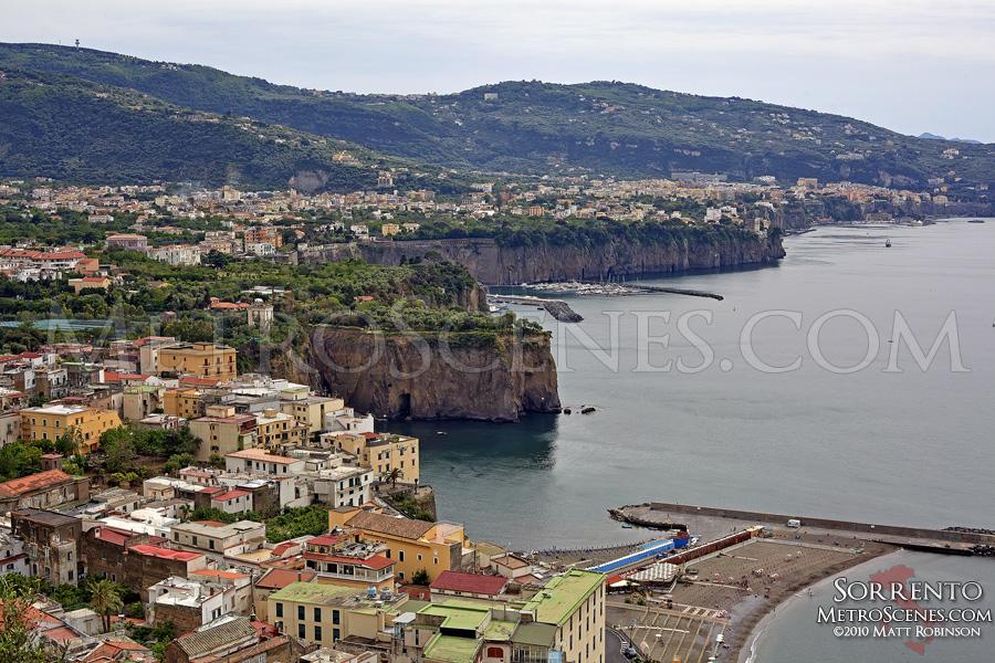 Terrain of Amalfi Coast