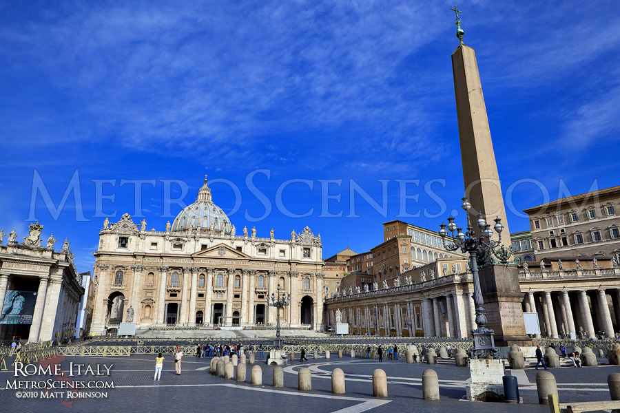 St. Peter's Square in the morning