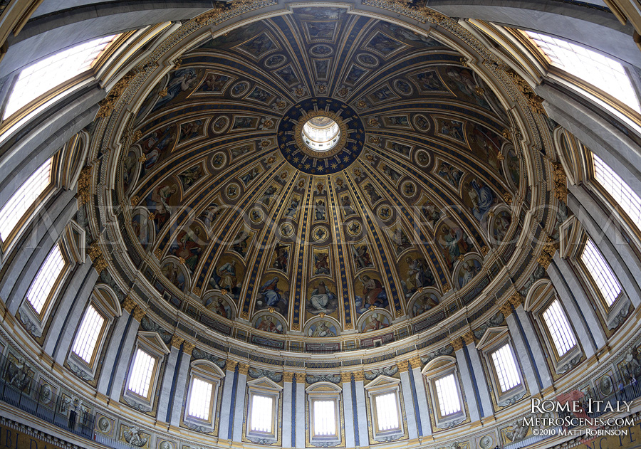 Cupola of St Peter's Basilica, Vatican City