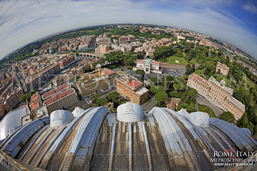 Fisheye over Rome