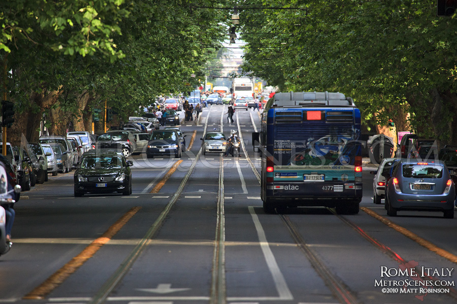 Rome Trolleybus Tracks