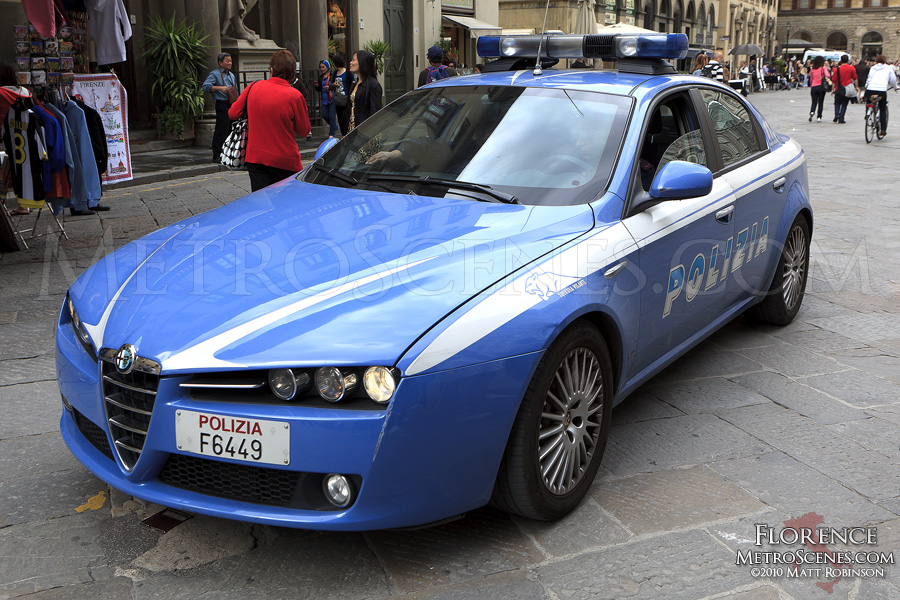 Police Car in Florence