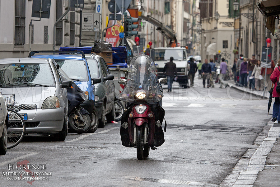 Scooter in Florence