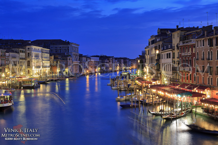 The Grand Channel in Venice