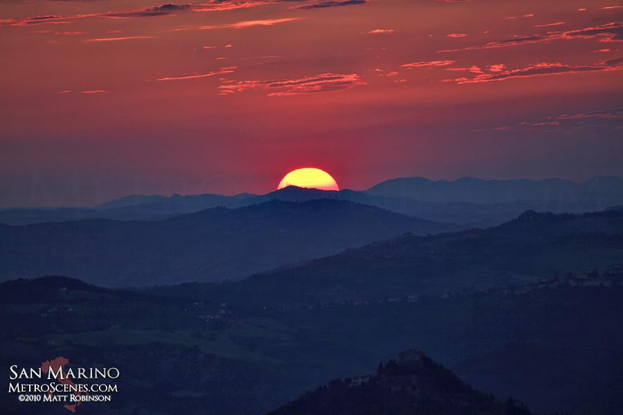 Apennine Sunset