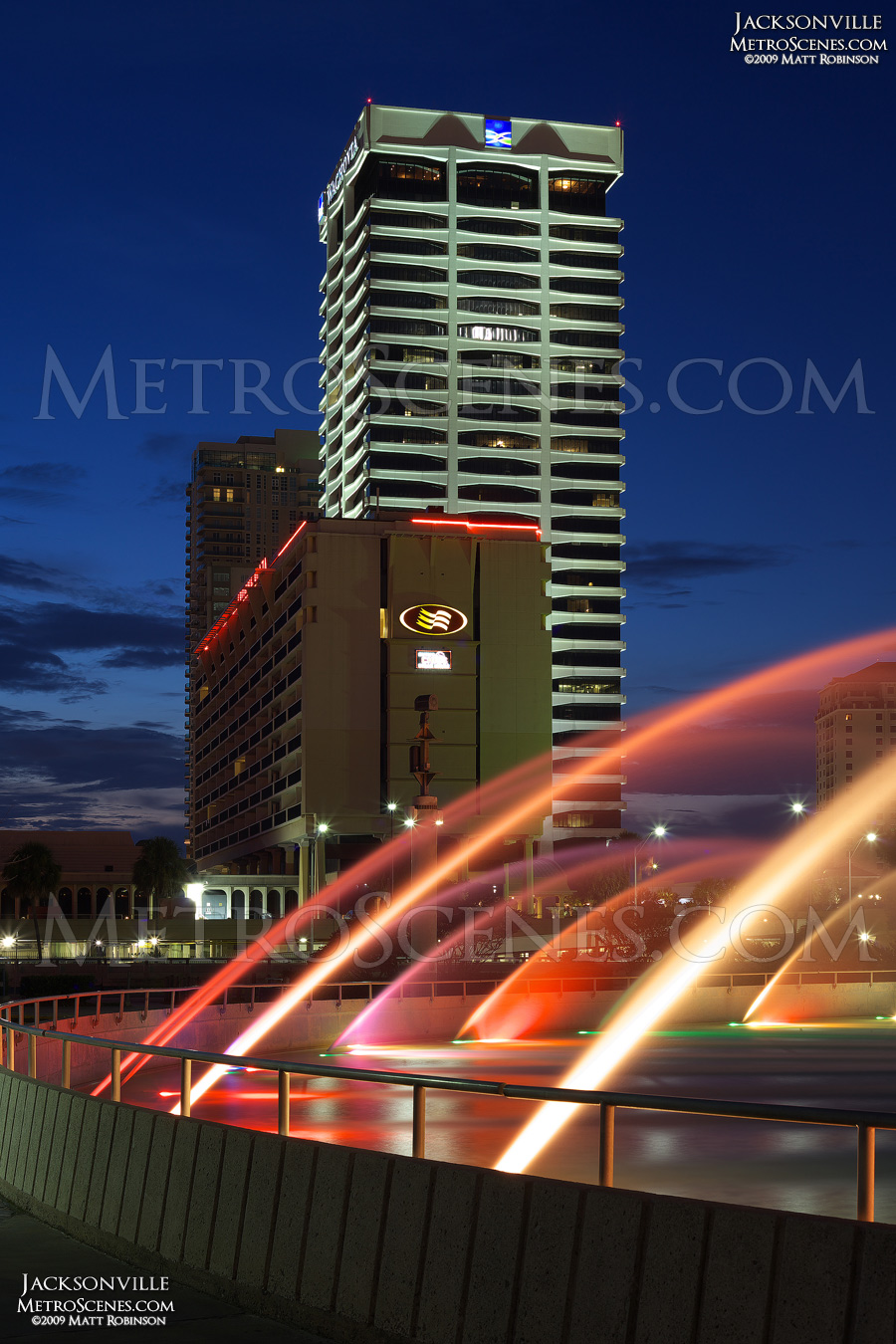 Riverplace Tower in Jacksonville