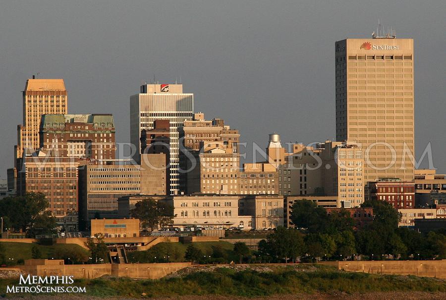 Memphis Skyline.