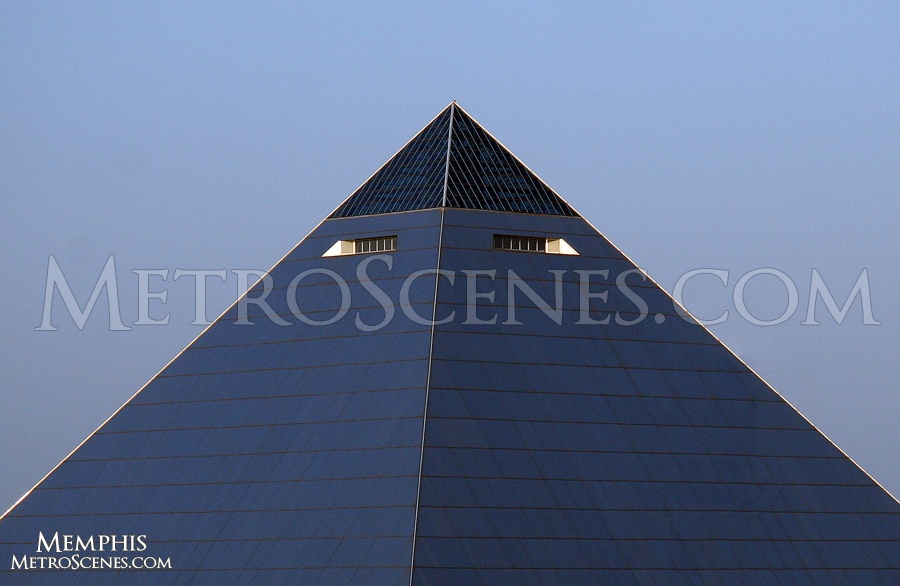 Pyramid Arena in Memphis, Tennessee