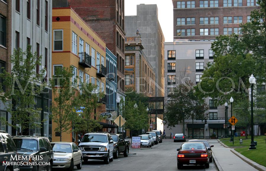 Memphis Street Scene