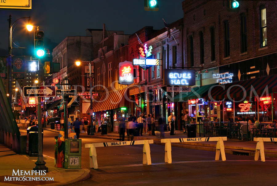 Beale Street Nightlife