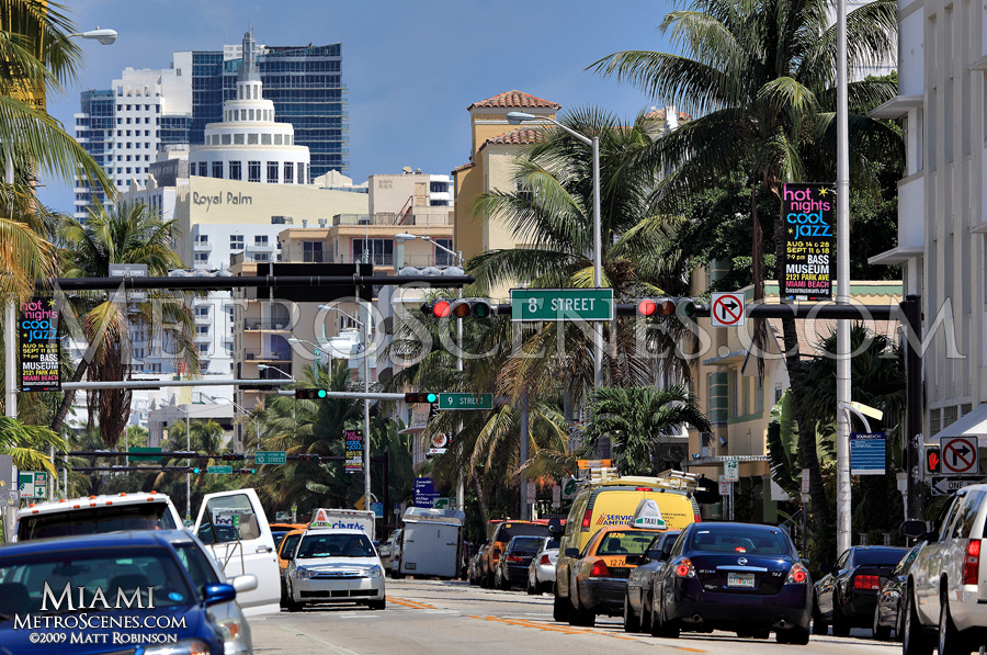 Collins Avenue South Beach Miami