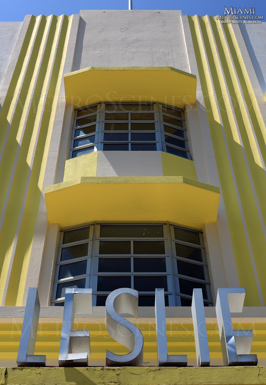 Art Deco Leslie Signage