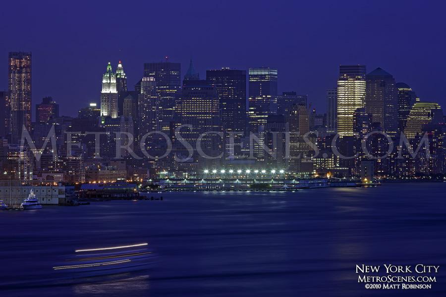 Lower Manhattan from Weehawken