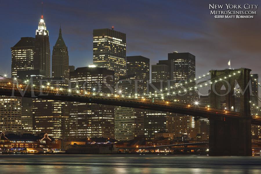 New York City at Magic Hour
