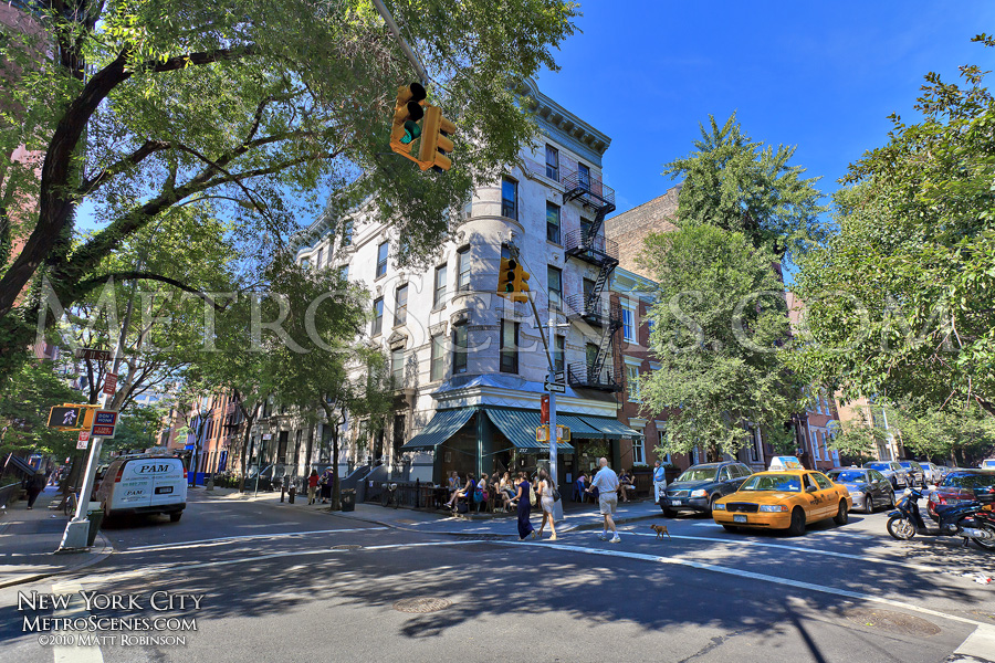 Greenwich Village street corner