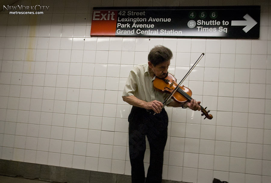 42nd Street Violin Player