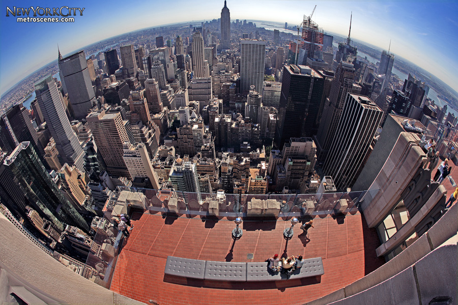 One top of the World in New York, New York