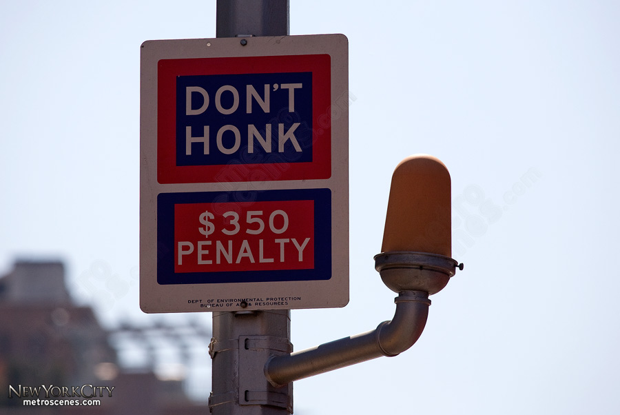 It's best not to honk.