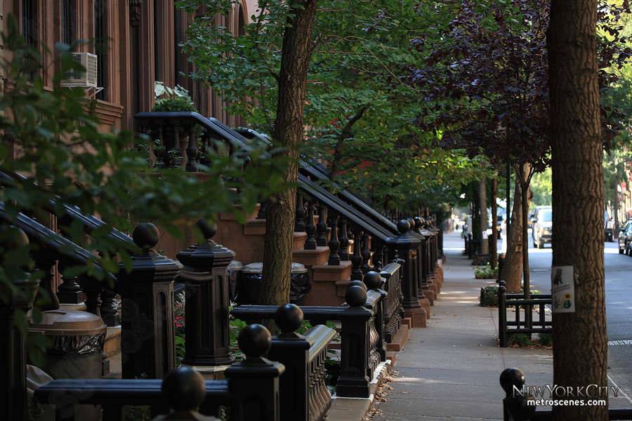 Perry Street, Greenwich Village.