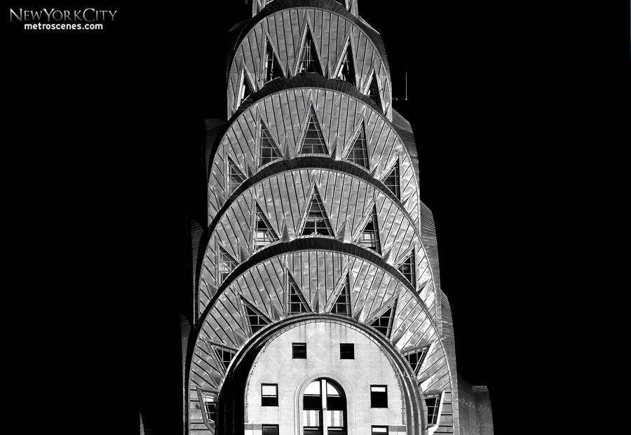 High key Chrysler Building