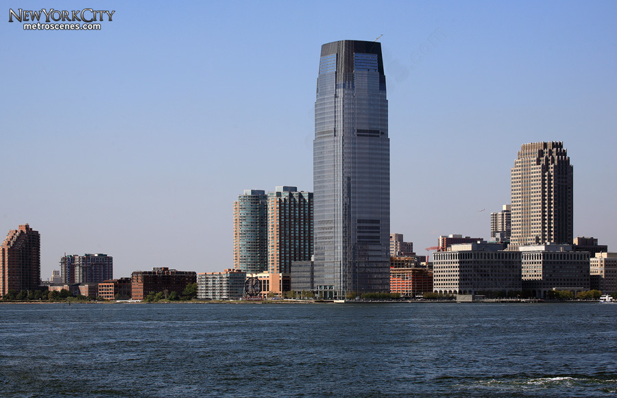 Goldman Sachs Tower in Jersey City, New Jersey.